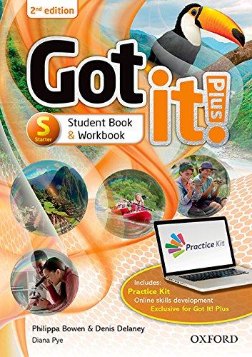 Got It! Plus - Starter Level. Student's Book Pack: Get it all with Got it! 2nd edition!