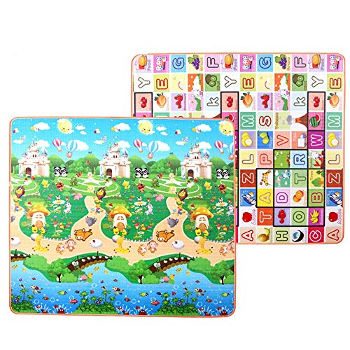 Cheapest Price! Baby Play Mat Playmat Crawl Mat Baby Play Mat Extra Large Foam Reversible Waterproof...