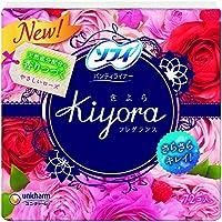 ユニ・チャーム ソフィ Kiyora(きよら) フレグランス ローズの香り 72枚×24点セット (4903111375677)