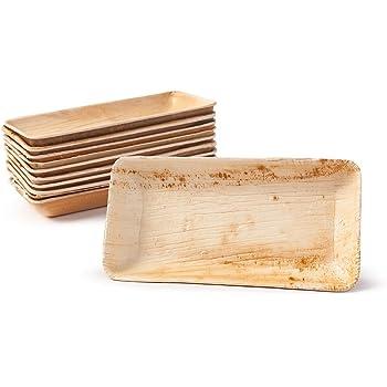 BIOZOYG Set Cuencos Snacks I 25 Piezas orgánicas Desechables ...