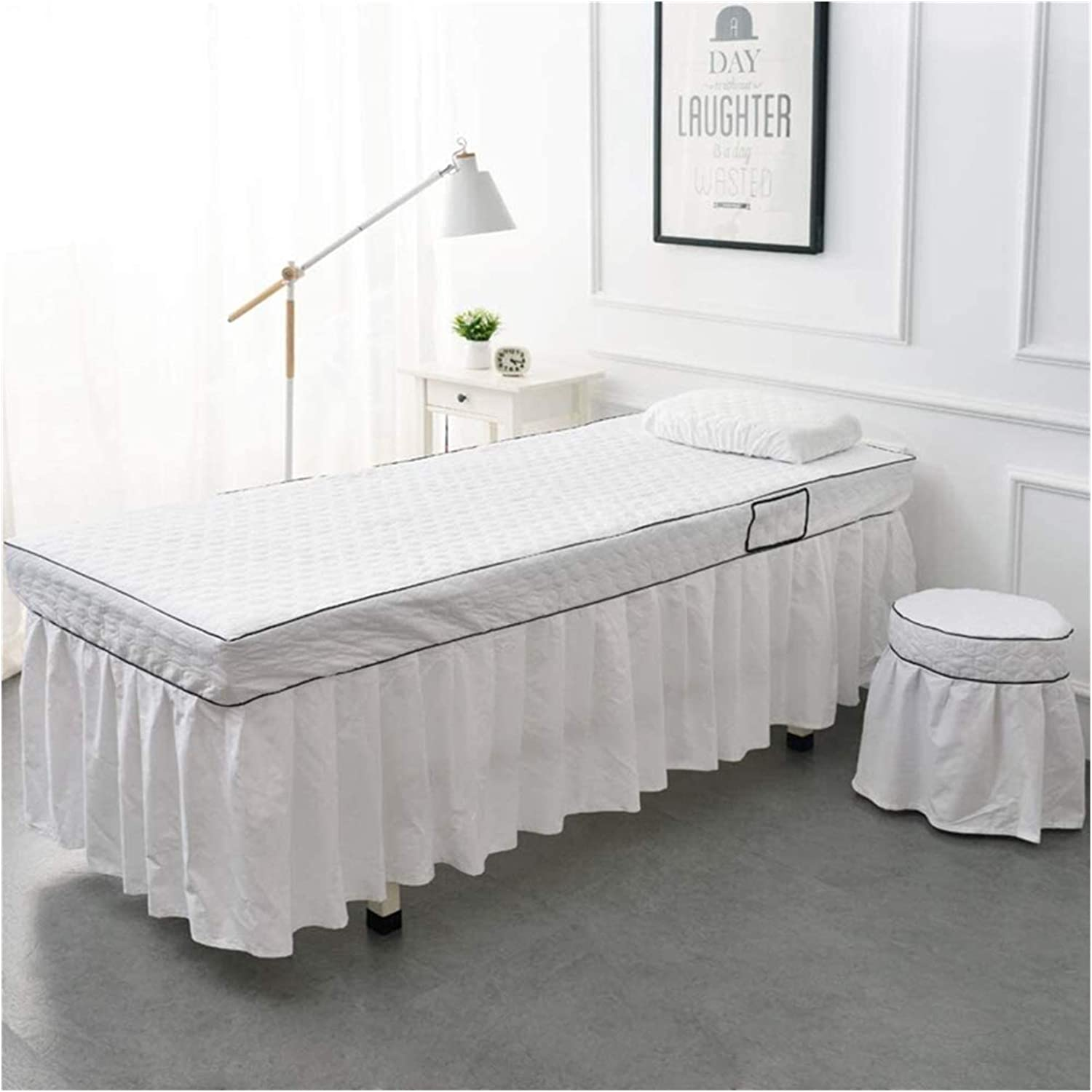 Beauty products Max 74% OFF Massage Table Sheet Set Solid Color Bed Cover Ski Simple Beauty