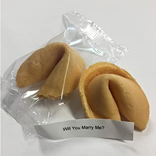 VictoryStore Wedding Proposal: Will You Marry Me? Fortune Cookie With Message Inside (1 Cookie)