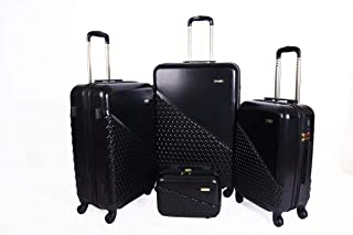 Track Luggage Trolley Bags for Unisex, 4 pieces