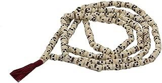 OMA 108 Bead Mala Tibetan Buddhist Prayer Rosary Meditation Necklace Wrap Bracelet - Large Size