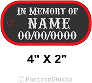 Best custom memorial biker patches Reviews