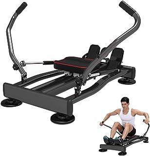 Roddmaskin, inomhusroddmaskin med 119 kg viktkapacitet, 360° flexibelt svängarstöd, för träning i hemmet