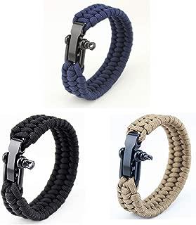 Paracord Boucle Starter Set Boucles Bracelet Clic Fermeture Outdoor Buckle