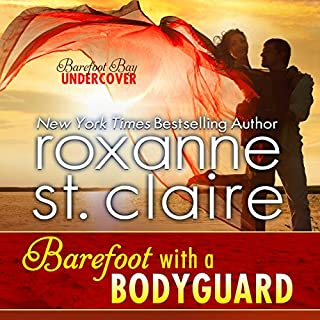 Barefoot with a Bodyguard audiobook cover art
