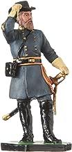 danila-souvenirs Tin Toy Soldier US Civil war Confederates General Longstreet Hand Painted Metal Sculpture Miniature Figurine 54mm #CW15