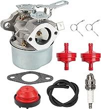 ATVATP 640084 HSSK50 Carburetor for Tecumseh HS50 HSK40 HSK50 HSSK40 HSSK55 LH195SA LH195SP OHSK110 OHSK120 OHSK125 Snow Blower 632107 632107A 640084A 640084B