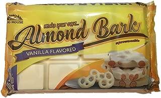 Log House Vanilla Flavored Almond Bark 24 oz package