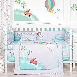 Blossom Aster Baby Bedding Set Nursery Bedding Set for Newborn, Infants and Kids – 4PCS Crib Set Nursery Bedding Set – Hot...