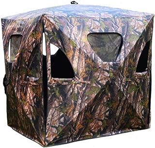 Adumly Ground Hunting Blind Portable Deer Elk Pop Up Box Tent Stand Weatherproof Window