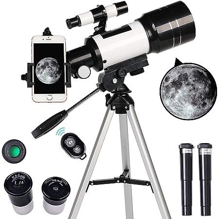 Uong Refraktor Teleskop Professionelle 525x Kamera
