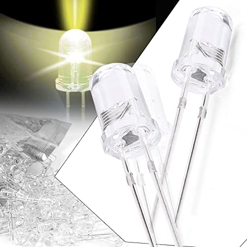 high quality Mallofusa online Set of 5mm LED Lights Emitting Diode Bulbs Super Bright Lamp outlet online sale Kit Yellow (1000Pcs) online sale