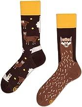 WAINEO Crew Socks L/ässige Cartoon Alpaka Bedruckte Baumwolle Spandex Strumpfwaren Schuhe Zubeh/ör F/ür Weihnachten Urlaub Rohr Socken F/ür Erwachsene