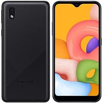 Samsung Galaxy A01 Core (16 GB, 1 GB de RAM) 5.3 pulgadas, batería de 3000 mAh, US & Global 4G LTE GSM Modelo internacional desbloqueado – A013M/DS (negro)