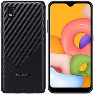 "Samsung Galaxy A01 Core (16GB, 1GB RAM) 5.3"", 3000mAh Battery, US & Global 4G LTE GSM Unlocked International Model - A013..."
