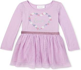 فستان كاجوال للفتيات بأكمام طويلة من ذا كيدز بليس