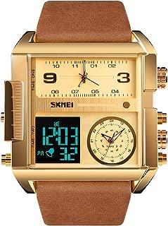 アースクルーセレクト「1391」OLD&NEW 腕時計 メンズ 多機能 日本製ムーブメント クロノグラフ アラーム 日本語説明書 革バンド ビッグフェイス