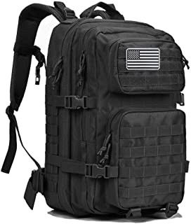 Dunnta Tactical Backpack, 3 Day Assault Pack Molle Bug Out Bag 42L Military Backpack for Hiking Camping Trekking Hunting