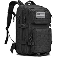 Dunnta Tactical Backpack, 3 Day Assault Pack Molle Bug Out Bag 42L Military Backpack for Hiking...