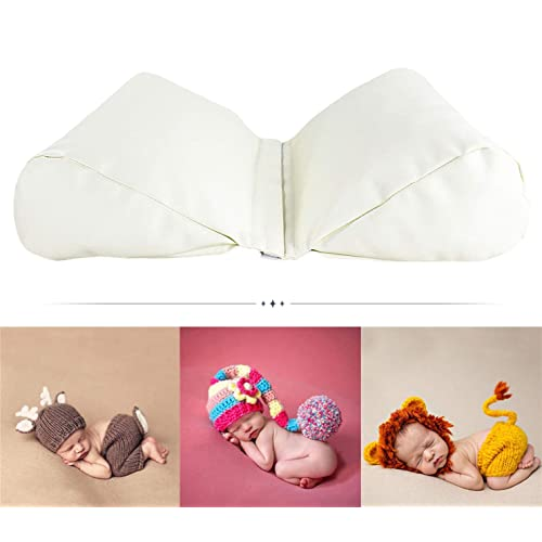 M&G House Newborn Photography Butterfly Posing Pillow Basket Filler Wheat Baby Photo Prop 2 PC White