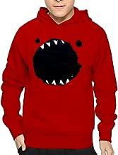 Men's Funny Monster Black Hoodie Sweatshirt Funny Pullover
