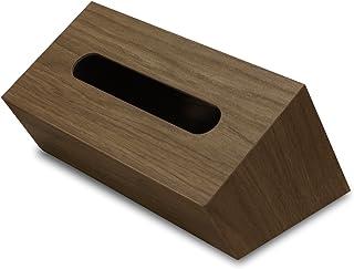 タツクラフト バスク ティッシュボックス ケース スラント BW ブラウン 個箱入仕様 Bosk ティッシュケース 車 おしゃれ かわいい ティッシュカバー ティッシュ 箱 ケース ホルダー ティッシュボックスケース ティッシュBOX ティッシュBOXケース ティッシュBOXカバー 木目 木目調 インテリア 雑貨 家具調 木工品 橋本達之助工芸 TATSU-CRAFT 日本製