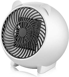 MOHOO Calefactor Portátil Mini Calefactor Eléctrico Calefactor Cerámica de PTC Protección sobrecalentamiento 500W Silencioso Adecuado para Oficina y Hogar (BUEN REGALO PARA FAMILIA y AMIGOS)