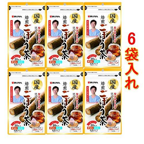 あじかんのごぼう茶国産焙煎 ごぼう茶 120包
