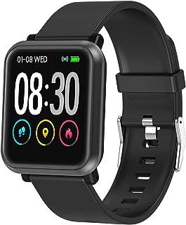 Fitness Tracker, Waterproof Activity Tracker, Smart Watch with Heart Rate Monitor, Sleep Monitor,...