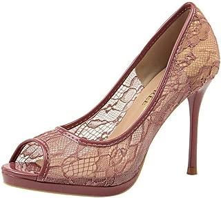 ELEEMEE Women Elegant Stiletto Heels Summer Shoes