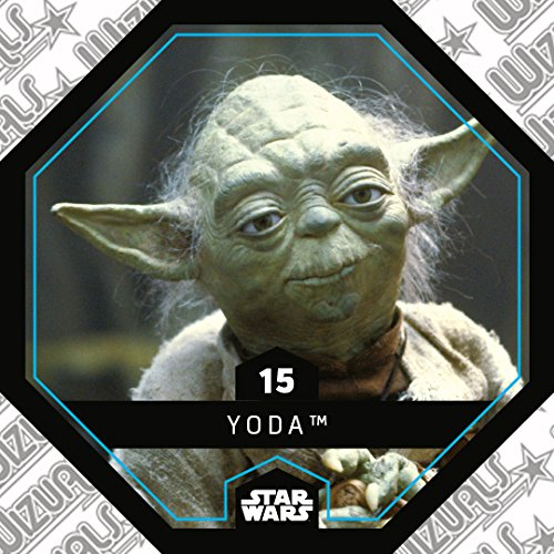 WIZUALS Rewe Star Wars Cosmic Shells Normal 15 Yoda Sticker