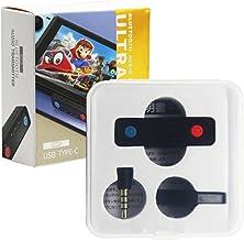 heyaa Adaptador Bluetooth compatível com Switch/Lite/PS4/PS5, Transmissor de áudio sem fio BT 5.0 com baixa latência USB C...