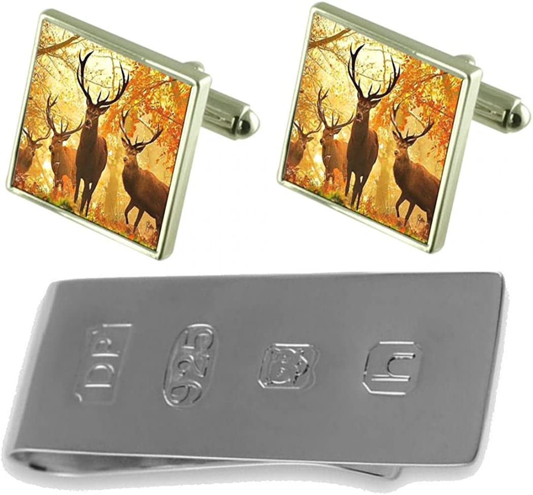 Select Gifts Forrest Max 60% OFF Stag Deer Clip Bond Cufflinks Money James Deluxe