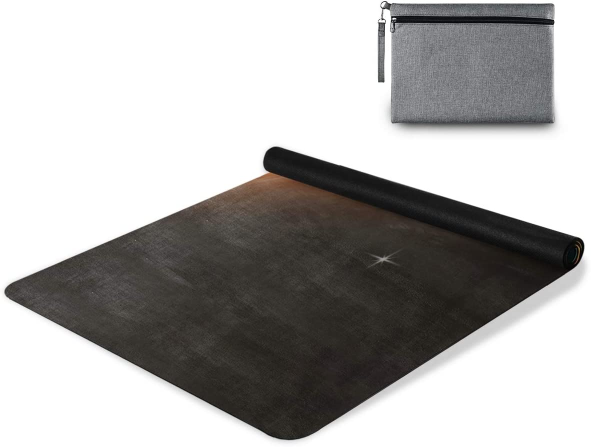 senya excellence Non Slip Yoga Towel Space Background Microfiber Sales for sale C Mat