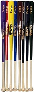 Brett Bros. Maple Outfield Fungo Wood Baseball Bat: BBOFUNGO BBOFUNGO Natural/Forest Green