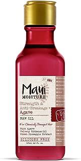 Maui Moisture Strength & anti-breakage + agave raw oil, 4.2 oz