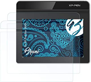 Bruni Schutzfolie kompatibel mit XP Pen Star G640 Folie, glasklare Displayschutzfolie (2er Set)