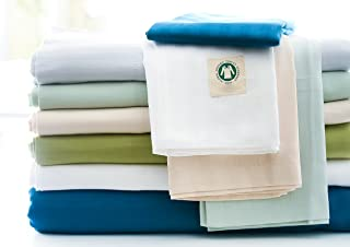 Westport Home Organic Cotton 300 Thread Count Printed Sheet Sets GOTS Certified