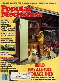 Popular Mechanics October 1981