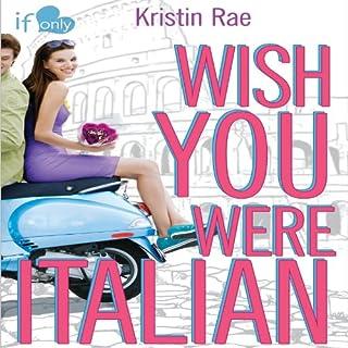 Wish You Were Italian audiobook cover art