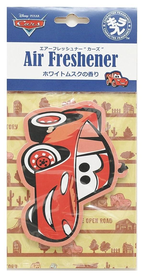ウェイトレスビバ腰ディズニー エアーフレッシュナー カーズ 吊り下げ ホワイトムスクの香り DIP-94-01