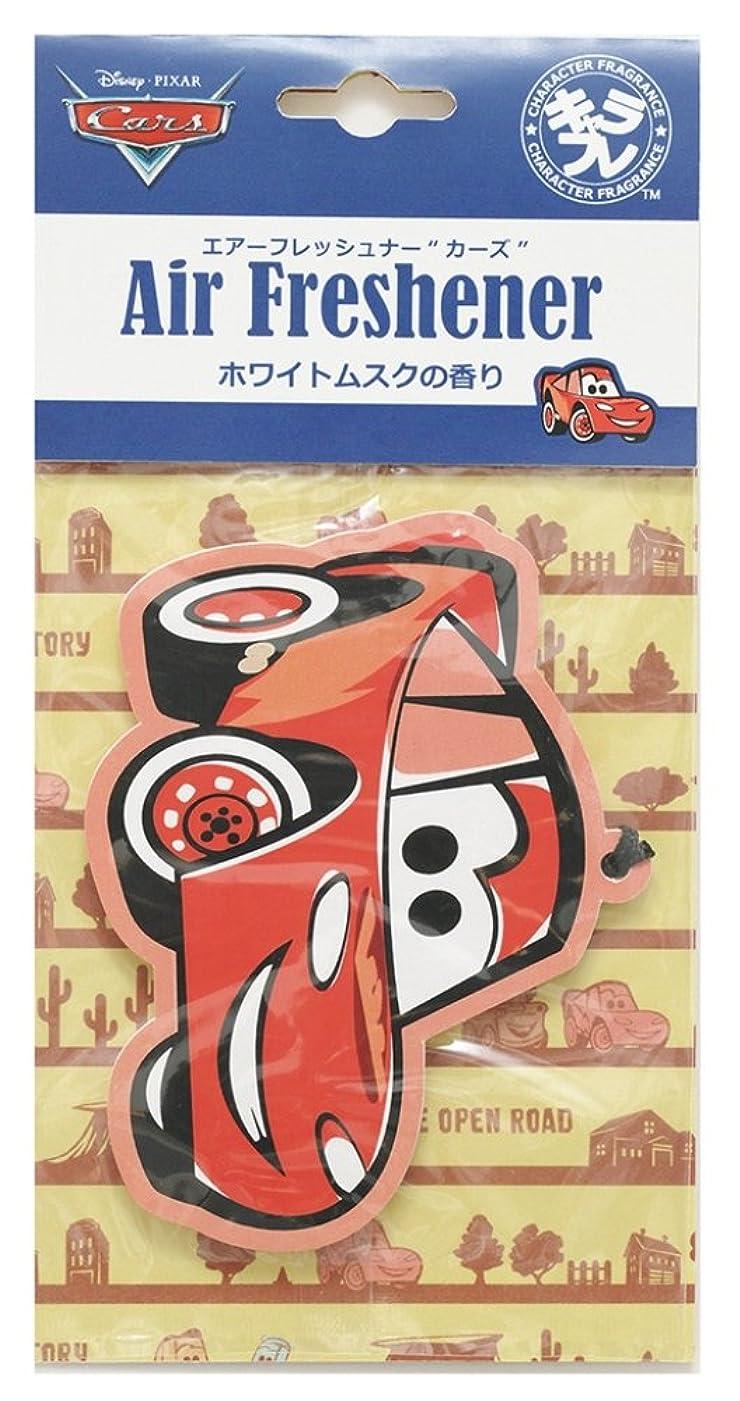 ピンクフォルダビデオディズニー エアーフレッシュナー カーズ 吊り下げ ホワイトムスクの香り DIP-94-01