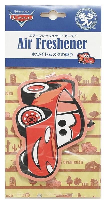 貧困パケット未接続ディズニー エアーフレッシュナー カーズ 吊り下げ ホワイトムスクの香り DIP-94-01