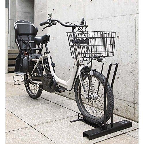 旅行用品 ホビー ペット アウトドア カー用品 自転車 家具 収納 玄関収納 屋外収納 自転車スタンド ガレージ スロープ付き電動自転車スタンド 1台用 564526