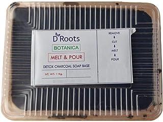 Roots D Botanica Detox Charcoal Melt And Pour Soap Base