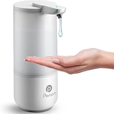 Amazon Com Soap Dispenser Automatic Soap Dispenser Touchless Bath Kitchen Countertop Soap Dispenser With Infrared Motion Sensor Ipx6 Waterproof 8 5oz 250ml Kitchen Dining