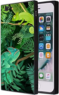 YQCi iPhone 6s Plus 6 Plus Case Shock-Absorbing Flexible Durability Defensive Protection Case for iPhone 6s Plus 6 Plus Chameleon